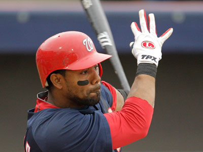 Willy Taveras has been signed to a minor-league deal with the Phillies. (AP Photo / Charlie Riedel)