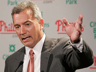 Assistant general manager assumed control of the Phillies´ draft in 2001. (Jerry Lodriguss/Staff file photo)