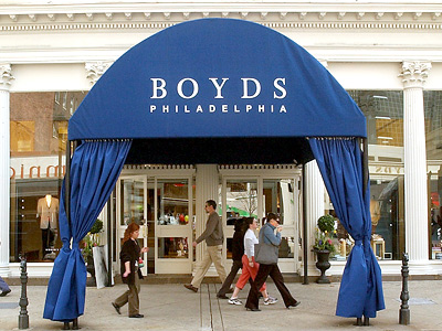 Boyd´s, the upscale store on the 1800 block of Chestnut Street. (Bonnie Weller / Staff File Photo)