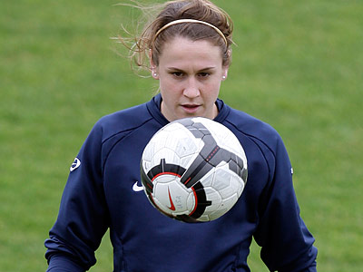 Heather O´Reilly and the U.S. women´s national team are starting to prepare for next summer´s Women´s World Cup. (Armando Franca/AP)