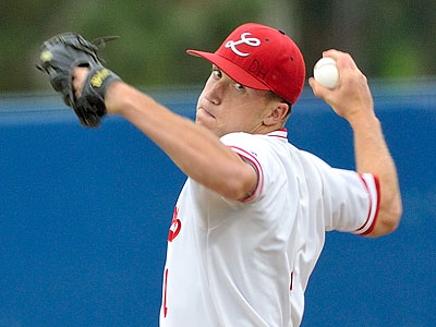 The Phillies drafted Lakewood (Calif.) High School pitcher Shane Watson with the 40th overall pick. (Jeff Gritchen/Long Beach Press-Telegram)