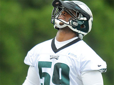 The Eagles hope DeMeco Ryans is the answer to their linebacker issues. (Clem Murray / Staff Photographer)