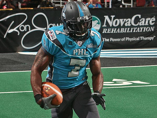 Philadelphia Soul defensive back Rayshaun Kizer. (Photo courtesy of the Philadelphia Soul)