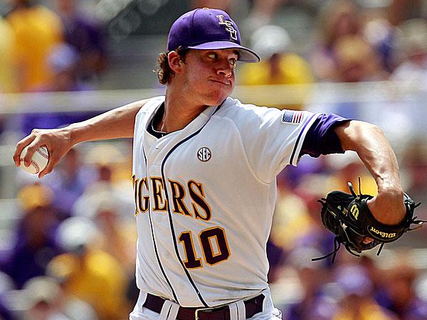 Phillies 2014 first-round draft pick Aaron Nola. (Gerald Herbert/AP)