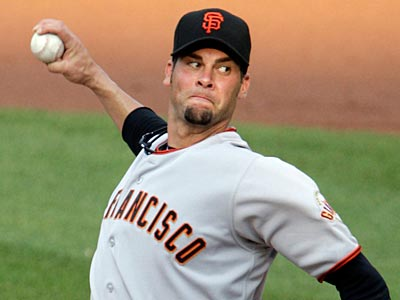 Ryan Vogelsong is 4-1 with a 1.68 ERA this season for the Giants. (Tom Gannam/AP)