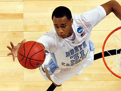 North Carolina forward John Henson could be an option for the Sixers with the 15th pick. (AP Photo / Jeff Roberson)