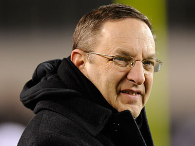 During his time as Eagles president, Joe Banner had a great deal of influence over personnel decisions. (Michael Perez/AP Photo)