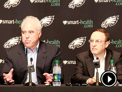 Joe Banner stepped down as the Eagles president on Thursday. (Yong Kim/Staff Photographer)