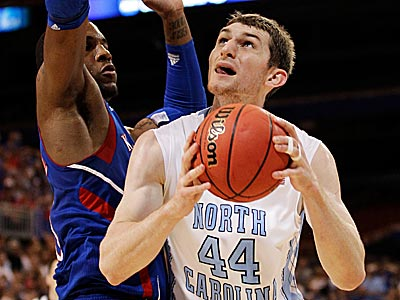 Could the Sixers draft North Carolina center Tyler Zeller? (Charlie Riedel/AP)