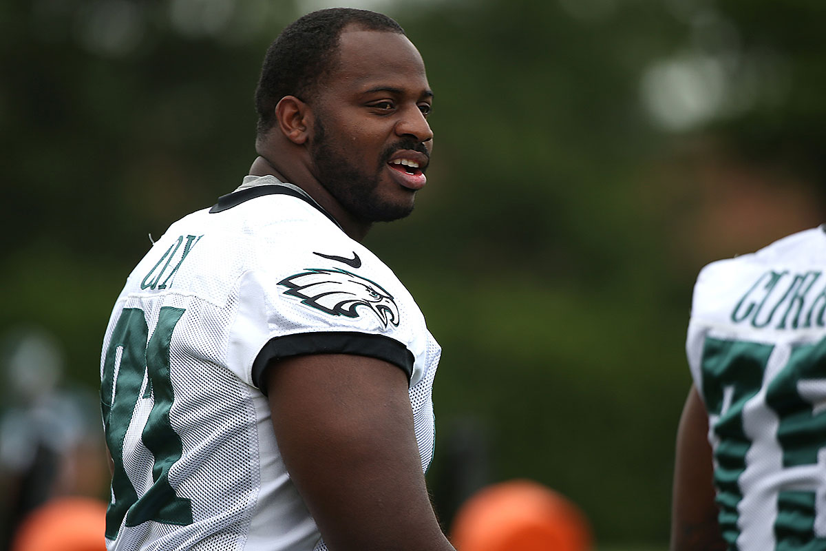 Nike NFL Mens Jerseys - Eagles' Fletcher Cox has earned huge deal