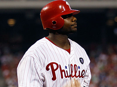 Ryan Howard will miss tonight´s game against the New York Mets. (Yong Kim/Staff Photographer)