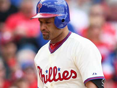 The Phillies have placed Placido Polanco on the 15-day disabled list. (AP/The News-Journal)