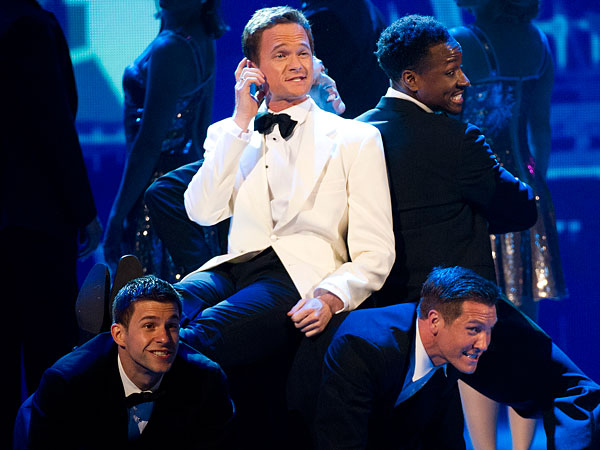 Host Neil Patrick Harris performs at the 66th Annual Tony Awards on Sunday June 10, 2012, in New York. (Charles Sykes/AP Photo)