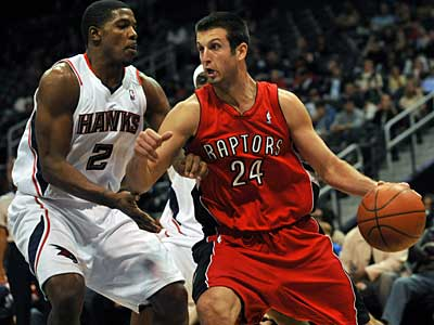 The Sixers have acquired Jason Kapono from the Raptors in exchange for power forward Reggie Evans. (AP / File photo)