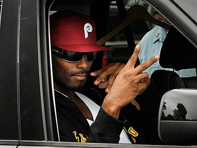 Many reports and rumors have said Plaxico Burress could be headed to the Eagles.  (Heather Ainsworth/AP)