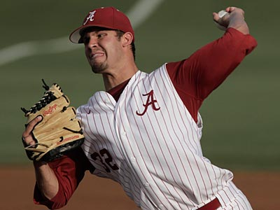 University of Alabama product Adam Morgan was selected by the Phillies in the third round. (Patrick Collard/AP)