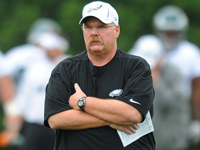 How will Andy Reid´s role change now that Joe Banner is out of the picture? (Clem Murray/Staff Photographer)