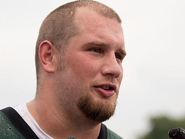 Eagles offensive tackle Lane Johnson. (Matt Rourke/AP)