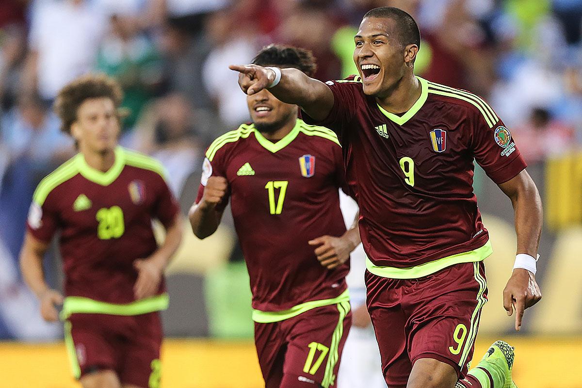 Venezuela Upsets Uruguay 1 0 In Copa Soccer Philly
