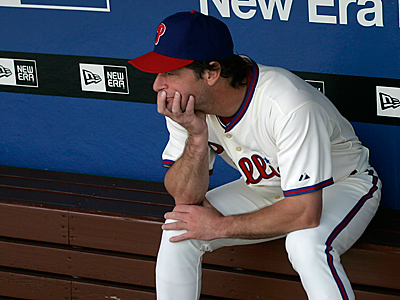 Five days after the World Series, Jamie Moyer will be free to sign with any team. (David Swanson/Staff file photo)