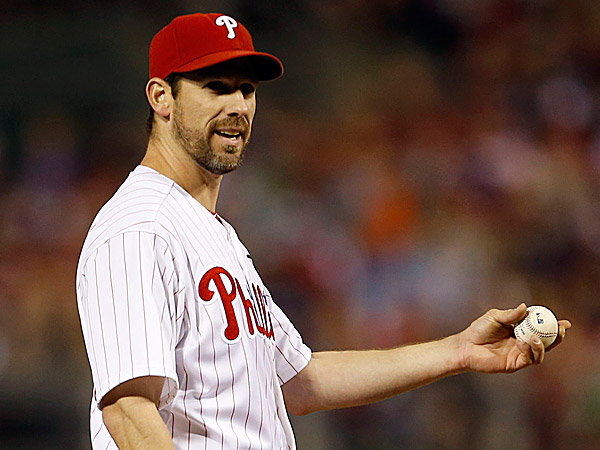 Phillies starting pitcher Cliff Lee. (Yong Kim/Staff Photographer)