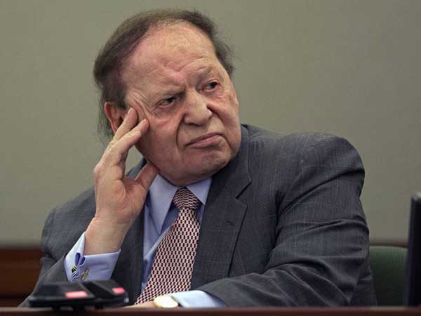 Las Vegas Sands Corp. CEO Sheldon Adelson