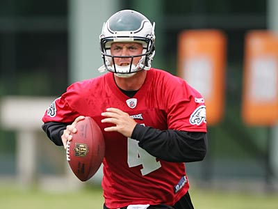 Kevin Kolb is preparing for his first season as the Eagles´ starting quarterback. (David Swanson / Staff Photographer)