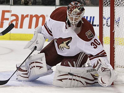 Paul Holmgren acquired the rights to goalie Ilya Bryzgalov from Phoenix last week. (AP file photo)