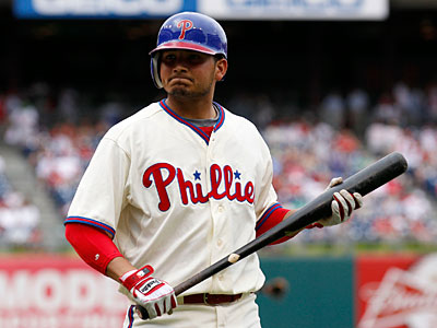 The injured Freddy Galvis currently leads the Phillies in situational hitting. (Yong Kim/Staff Photographer)