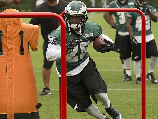 Eagles running back LeSean McCoy. (Matt Rourke/AP)