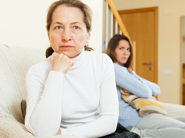 Your in-laws made themselves clear six years ago, so there´s at least some chance they´re over the insult, too - or at least far enough past their fury to breathe the same air as your mom. (iStock)