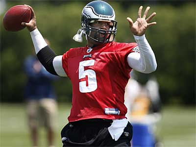 Is Donovan McNabb underappreciated by Eagles fans? One national writer thinks so. (David Maialetti / Staff Photographer)