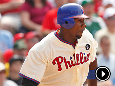 Ryan Howard´s strong batting was crucial for the Phillies in Sunday´s win. (Ron Cortes/Staff Photographer)