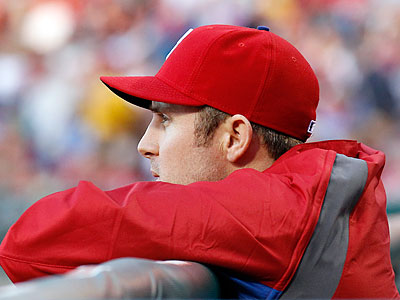 Chase Utley´s rehab clock officially starts ticking at 7 p.m. Tuesday. (Yong Kim/Staff file photo)