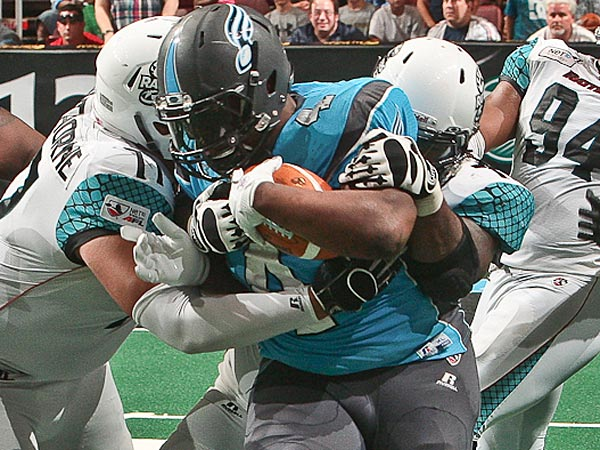 Soul fullback Derrick Ross. (Photo courtesy of the Philadelphia Soul)