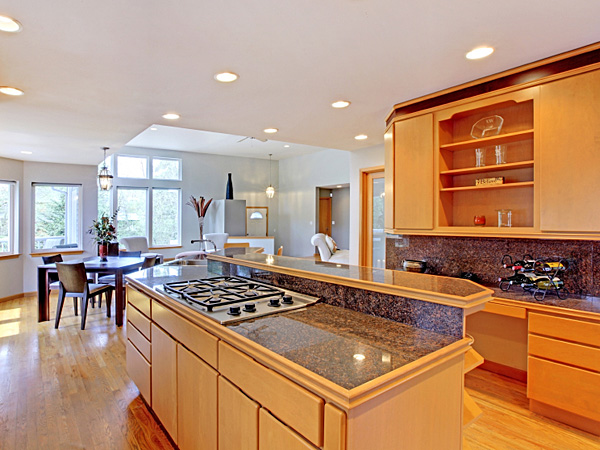 The trend toward open kitchens, which first began back in the 1980s, is still going strong. (iStock)