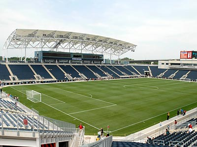 The Union will open PPL Park on on Sunday night against the Seattle Sounders. (Ron Tarver / Staff Photographer)