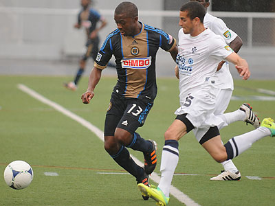 The partnership between the Philadelphia Union and Harrisburg City Islanders will be more formalized in the new MLS Reserve League. (Jeremy Long/Lebanon Daily News/AP file photo)