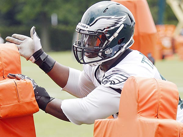 Eagles defensive lineman Cedric Thornton. (Akira Suwa/Staff Photographer)