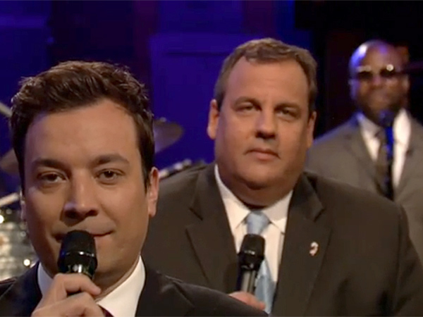 "Gov. Christie ""slow-jamming the news"" on ""Late Night With Jimmy Fallon."""