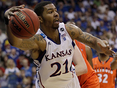 Philly native Markieff Morris left Kansas after a junior season in which he led the Big 12 in field goal percentage. (AP Photo/Charlie Riedel)