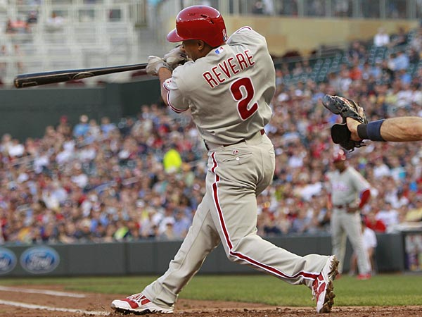 Phillies center fielder Ben Revere. (Genevieve Ross/AP)