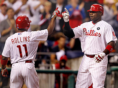 Ryan Howard has arguably been the Phillies´ non-pitching MVP so far this season. (Ron Cortes/Staff Photographer)