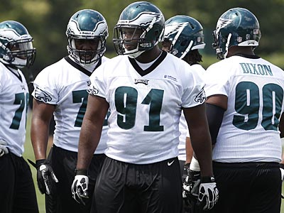 """I´m sure there´s a lot of expectation of me,"" Fletcher Cox said Wednesday. (David Maialetti/Staff Photographer)"