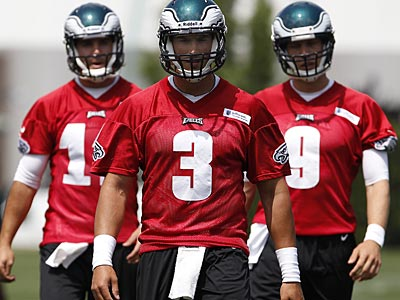The Eagles love backup quarterback Mike Kafka´s work ethic and intelligence. (David Maialetti/Staff Photographer)