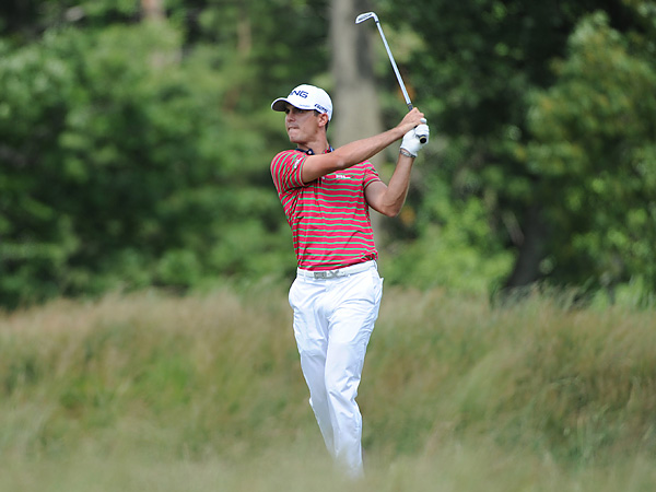 Billy Horschel entered the third round the U.S. Open at Merion Golf Club tied for the lead with Phil Mickelson at 1-under. (David Swanson/Staff Photographer)
