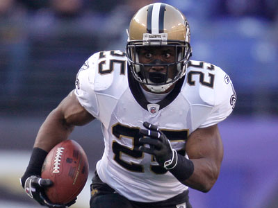 Reggie Bush faces an uncertain future with the Saints. (David Kohl/AP Photo)