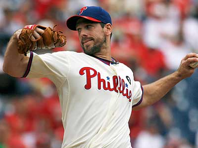 Cliff Lee has struggled against Red Sox slugger Adrian Gonzalez in his career. (H. Rumph Jr/AP photo)