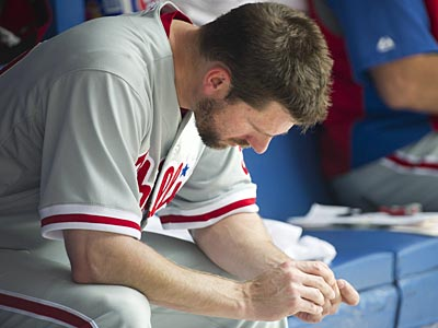 Cliff Lee will head into July still searching for his first win. (Nathan Denette/AP/The Canadian Press)
