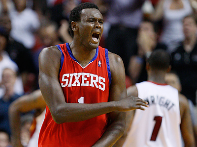 The Sixers have traded Samuel Dalembert to the Sacramento Kings. (AP Photo/Wilfredo Lee)